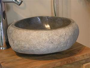 natural river stone sink welcome to lux4hometm lux4homecom With vasque salle de bain en pierre