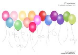 Transparent Balloons Clip Art