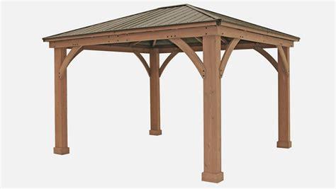 12 14 gazebo with aluminium roof yardistry