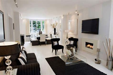 idee  design  arredare il soggiorno  bianco