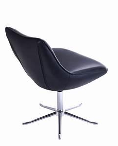 Chaise Salon Design : fauteuil lounge design moderne pietement metal don ~ Teatrodelosmanantiales.com Idées de Décoration
