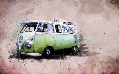 Bus Vw Volkswagen 4k Van Wallpapers Desktop