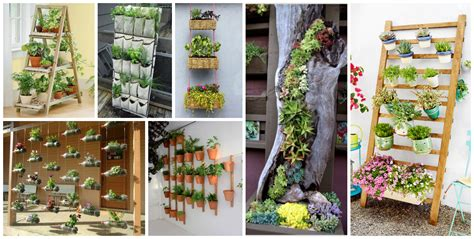 Vertical Garden Diy Ideas by 10 Diy Vertical Garden Ideas