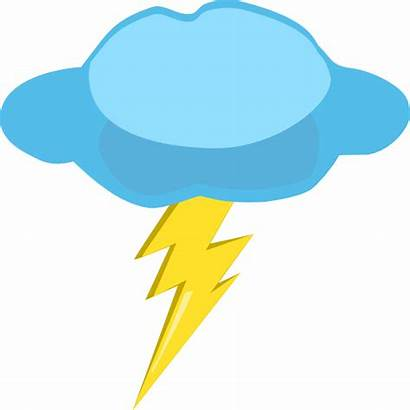 Lightning Clipart Thunder Cloud Clip Thunderstorm Lighting