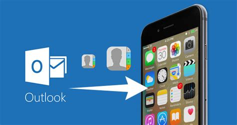 sync outlook with iphone how to sync outlook contacts to iphone