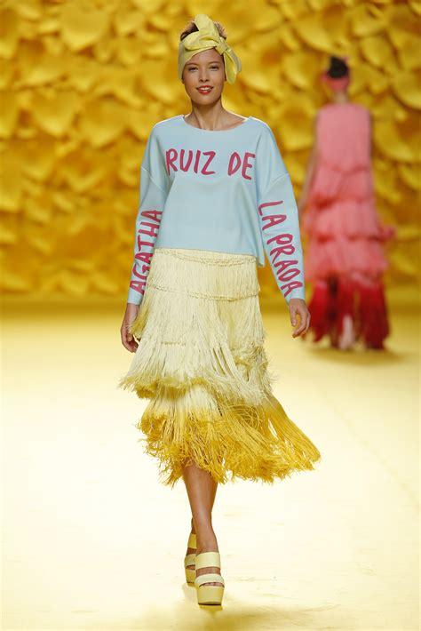madrid fashion week  agatha ruiz de la prada