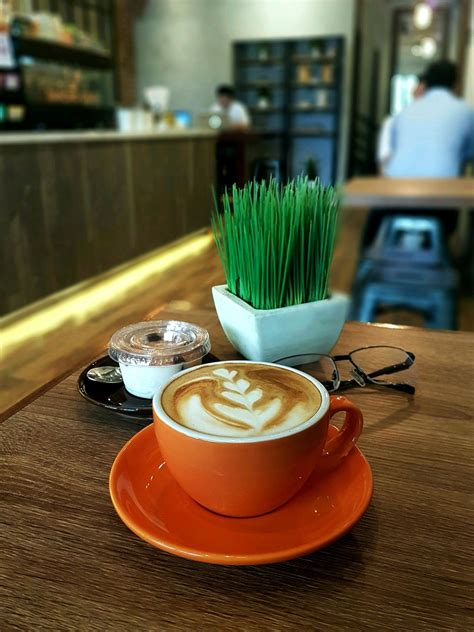 """Later, kaldi carried samples of this mysterious plant to a local sufi monastery. """"Cappuccino"""", Dancing Goat Coffee Co, Jakarta 
