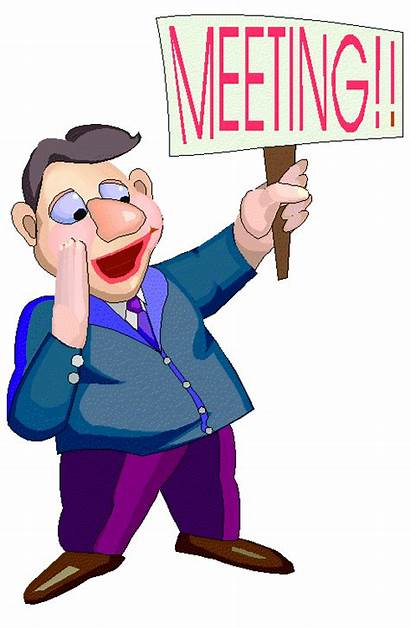 Clipart Meeting Clip Funny Town Meetings Looking