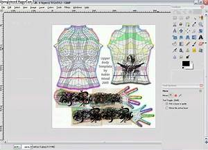 from gimp to second life tutorials how to make tattoos With second life templates for gimp