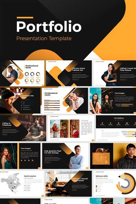 Portfolio PowerPoint Template #86827