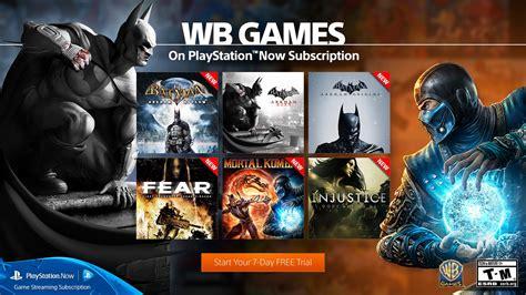 batman mortal kombat lego games coming  playstation