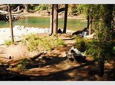 Ohanapecosh Campground Mount Rainier National Park