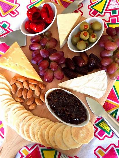 Cheese Board Platter Fruit Cracker Ever Plate