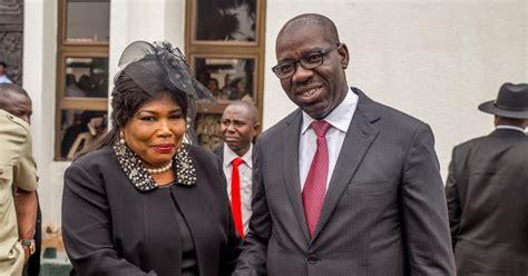 Edo State Governor Swears In Justice(mrs) Esohe Ikponwen