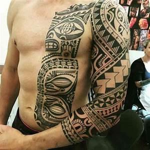 Tatouage Demi Bras Homme : tatouage maorie la tradition devient tendance en 30 top id es de mod les ~ Melissatoandfro.com Idées de Décoration
