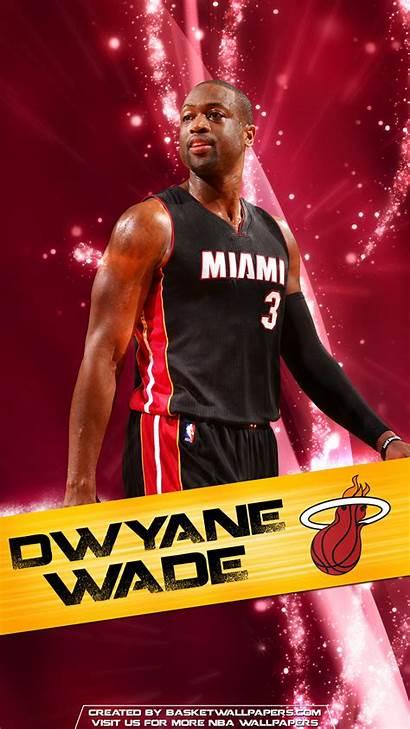 Wade Dwyane Heat Miami Nba Wallpapers Iphone