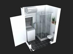 Implantation Salle De Bain : l renov tous implantation salle de bain moins de 2m ~ Dailycaller-alerts.com Idées de Décoration