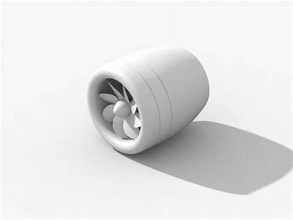 Clay Render Engine Plane Rotor Dribbble Animation
