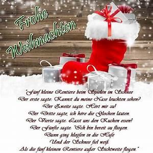 Weihnachtswünsche Ideen Lustig : frohe weihnachtsgedichte 2019 f r kinder kindergarten ~ Haus.voiturepedia.club Haus und Dekorationen