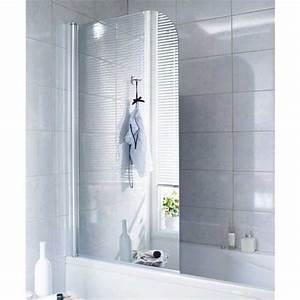 Paroi Douche Baignoire : pare baignoire en verre miroir droite tokyo salle de bains ~ Farleysfitness.com Idées de Décoration