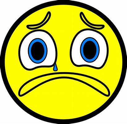 Sad Face Clip Clipart Smiley Vector Frowny