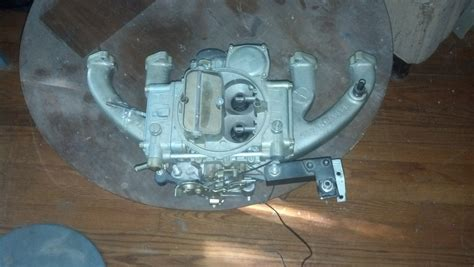 sold slant 6 4 barrel offenhauser intake and holley 390 carb for a bodies only mopar forum