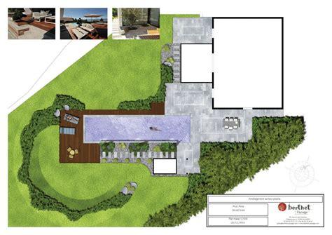 bureau plan thonon conception de jardin thonon