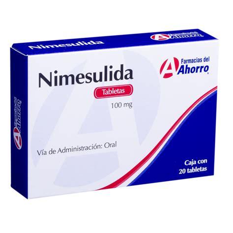 Misoprostol Tabletas Nimesulida 100 Mg Oral 20 Tabletas