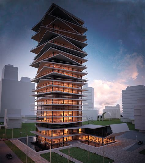 Office Building Concept On Behance