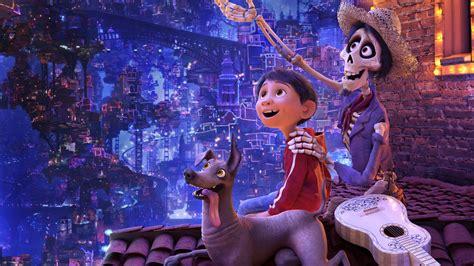 wallpaper coco miguel dante hector pixar animation