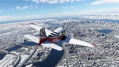 Simulator Flight Microsoft Vr Sim Cities Flying