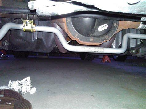 whiteline flatout rear sway bar installation ford