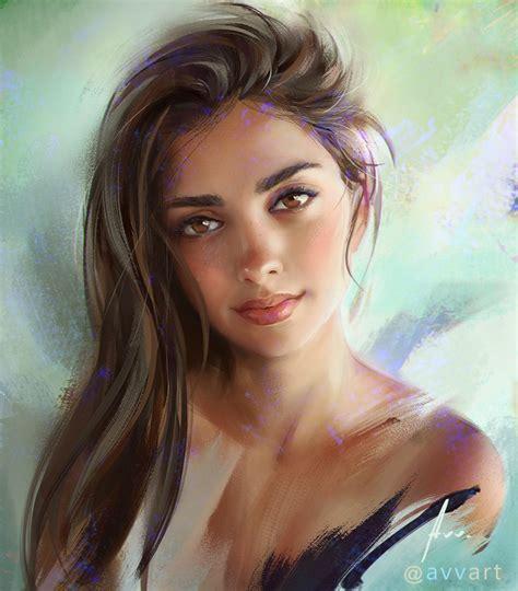 Girlsportraits On Behance