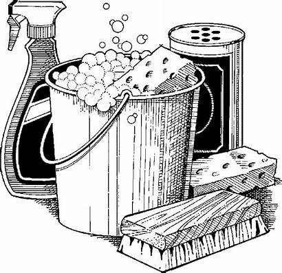 Cleaning Clip Clipart Housekeeping Supplies Housekeeper Services