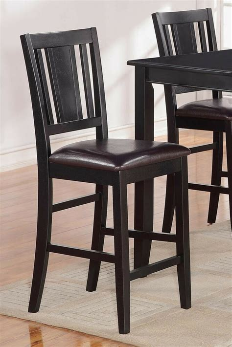 Kitchen Chairs by Set Of 2 Buckland Kitchen Counter Height Chairs With Faux