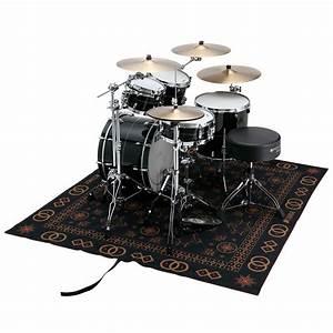 tama oriental design drum rug drum accessory With tapis oriental avec 2 canapés