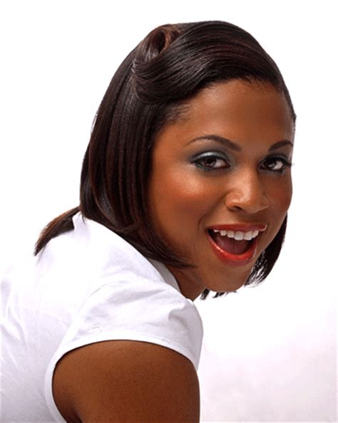 Black Hairstyles For Relaxed Hair by Hairstyle For Relaxed Hair