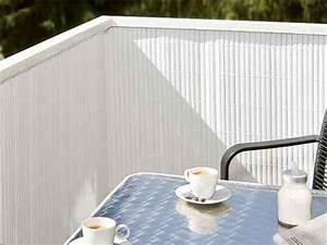 Sichtschutz Balkon Weiß : sichtschutz pvc balkonmatte blickdicht wei ~ Markanthonyermac.com Haus und Dekorationen