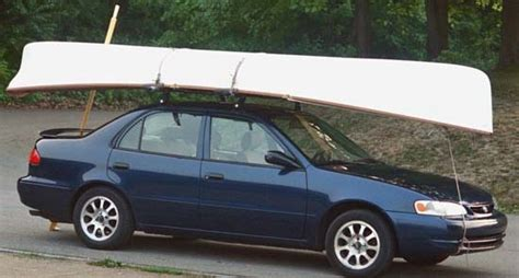 Row Boat Roof Rack by Canoes Boats On Top Of Suvs