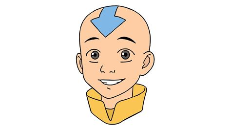 How To Draw Aang From Avatar (the Last Airbender)