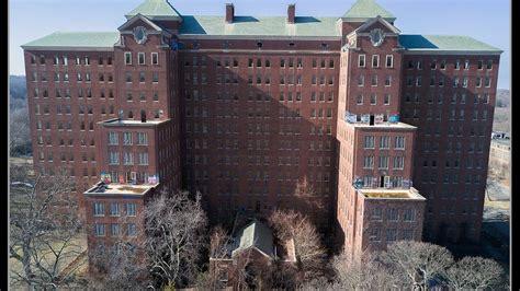 kings park psychiatric center asylum abandoned haunted scary dji mavic pro  drone video