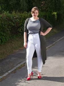 Curvy Girl Thin: ASOS Curve Ridley Skinny Jean in White
