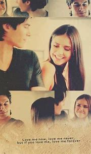 Damon Salvatore x Elena Gilbert - Ian Somerhalder x Nina ...