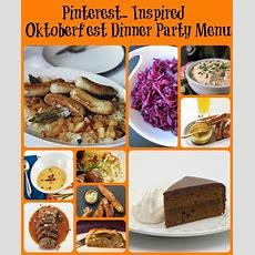 Oktoberfest Dinner Party  Pinterest Inspired