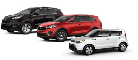 Kia Lineup by Kia S Lineup Of Crossovers Has Something For Everyone