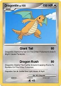 Pokémon Dragonite 72 72 - Giant Tail - My Pokemon Card