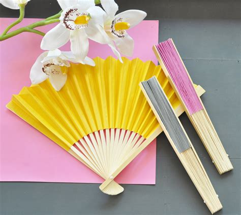hand fans for wedding hand fans bamboo paper fan wedding favors