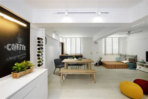 Home Design Ideas For Hdb Flats by 5 3 Room Hdb Flats With Space Maximising Designs Houzz