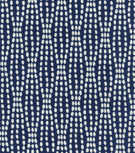 Upholstery Material by Upholstery Fabric Waverly Strands Navy Joann