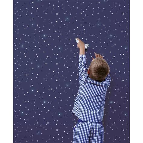 papier peint bleu nuit et 233 toiles lilipinso